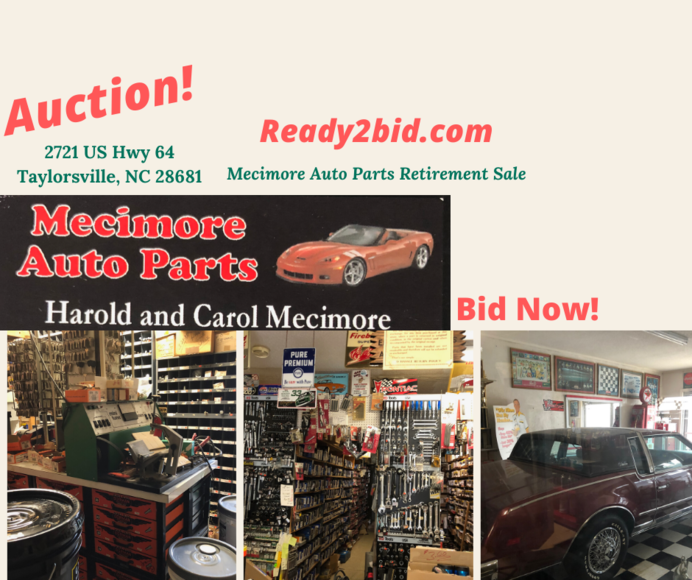 Mecimore Auto Parts Going out of Business