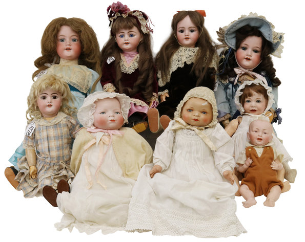 Antique Bisque Dolls and Body Parts | May 26, 2020 at 8:00 PM