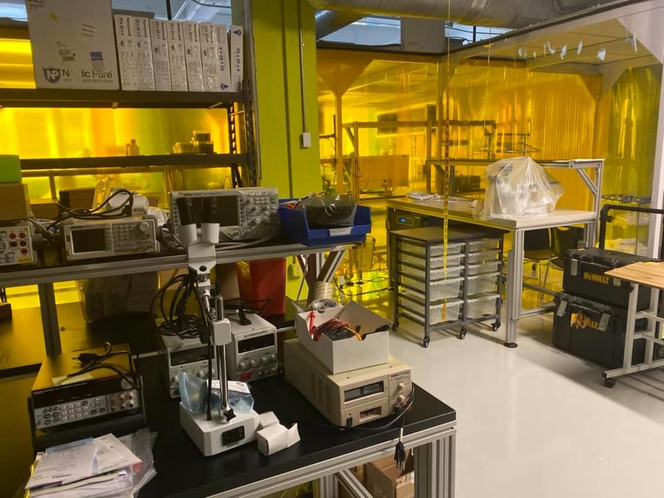 Newer Lab Equipment, Tools and Office Furniture