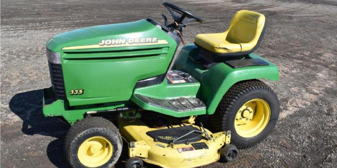 (4) John Deere Riding Lawn Mowers, Timecutter Z4200 Zero Turn, Simplicity Zero Turn