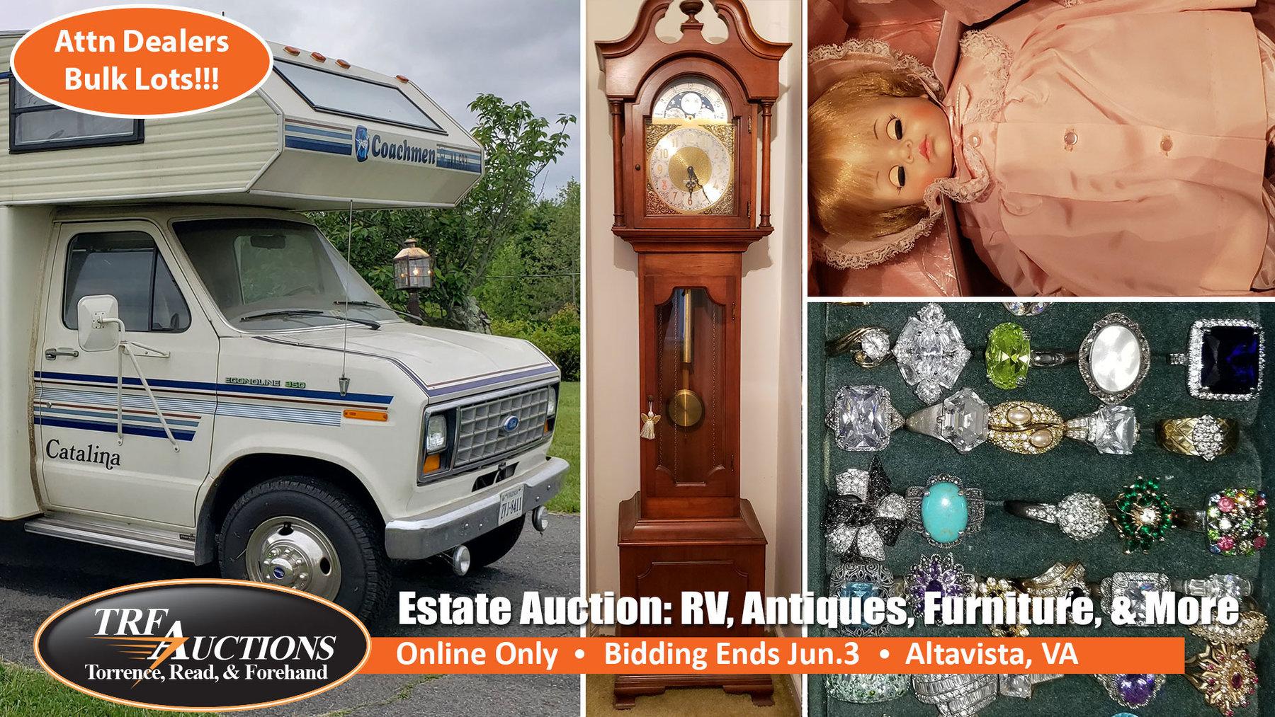 Altavista Estate Bulk Lots Online Only