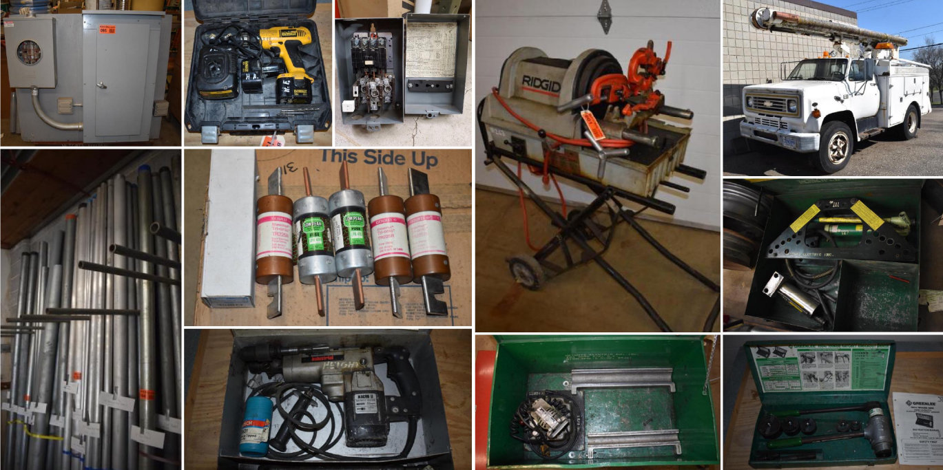 Electrical Contractor Retirement: Truck, Tools, Inventory