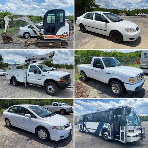 City of Winston Salem Online Only Rolling Stock Auction