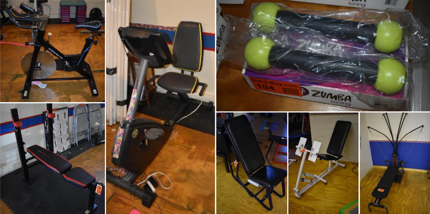 Fitness Center Liquidation