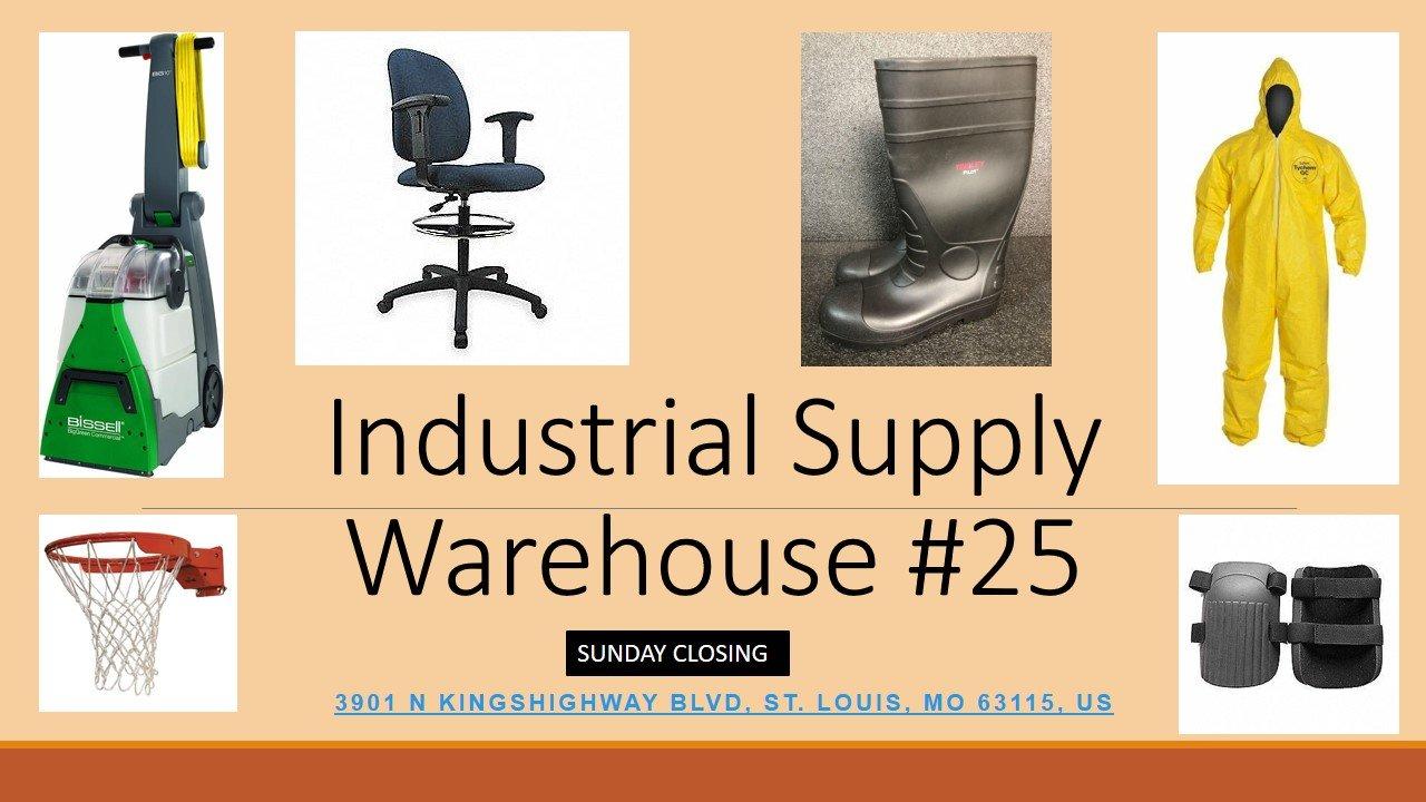 Industrial Supply Warehouse Liquidation  #25