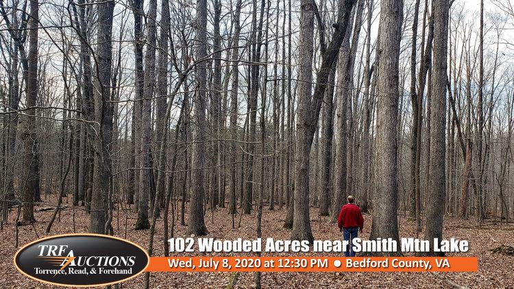 102 Wooded Acres near Smith Mountain Lake
