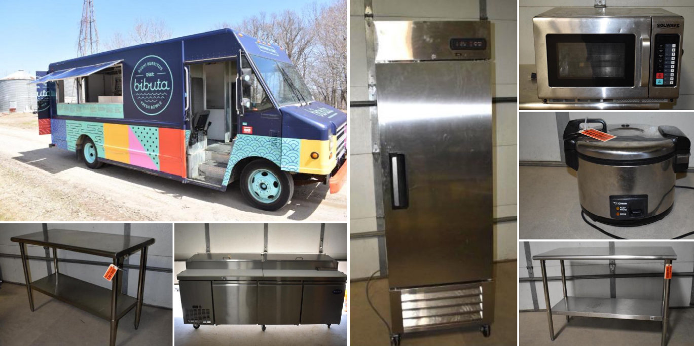 Food Truck and Late Model Restaurant Equipment