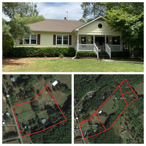 3 BR/2.5 BA Home w/13 Stall Barn 17.47 +/- Acres and Two 2 Acre Building Lots in Orange County, VA