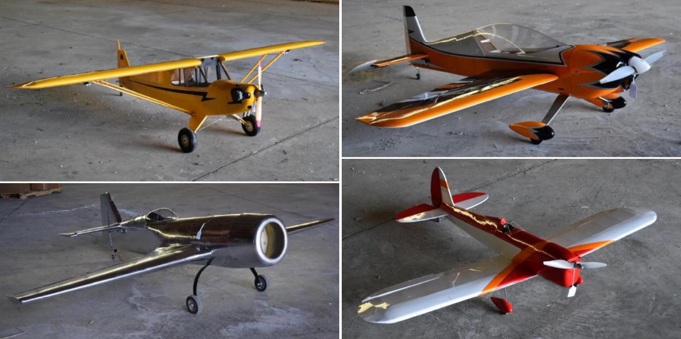(10) RC Airplanes