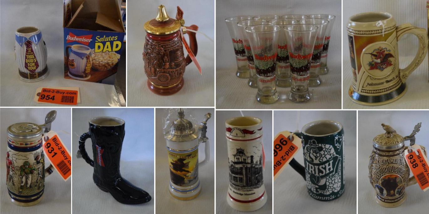 Collector Steins, Signs and Records