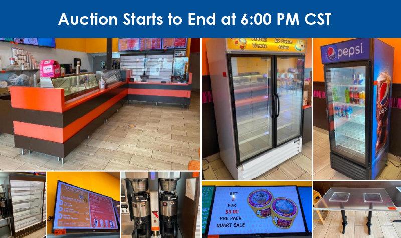 Cafe, Donut and Ice Cream Shop Liquidation