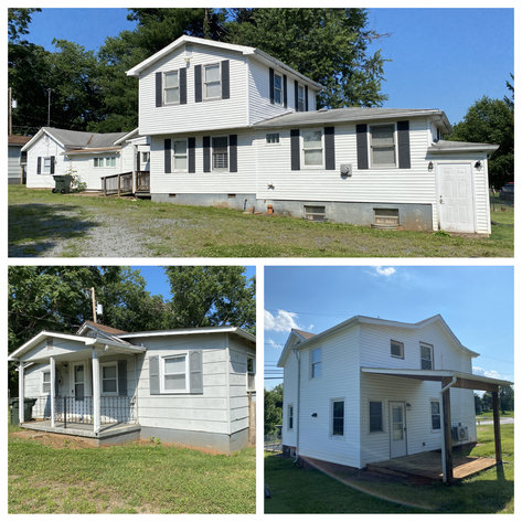 3 Investment Homes & Building Lot Only 1/2 Mile from Main St. in Culpeper, VA--SELLS to the HIGHEST BIDDER!!
