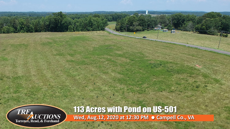 113 Acres with Pond on US-501