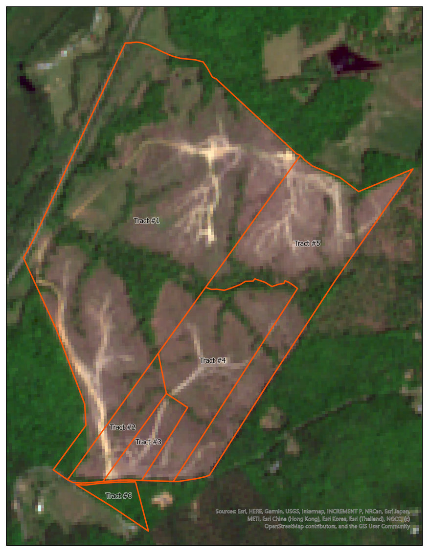 6 Tracts of Contiguous Raw Land Totaling 267 +/- Acres in Albemarle & Louisa Counties
