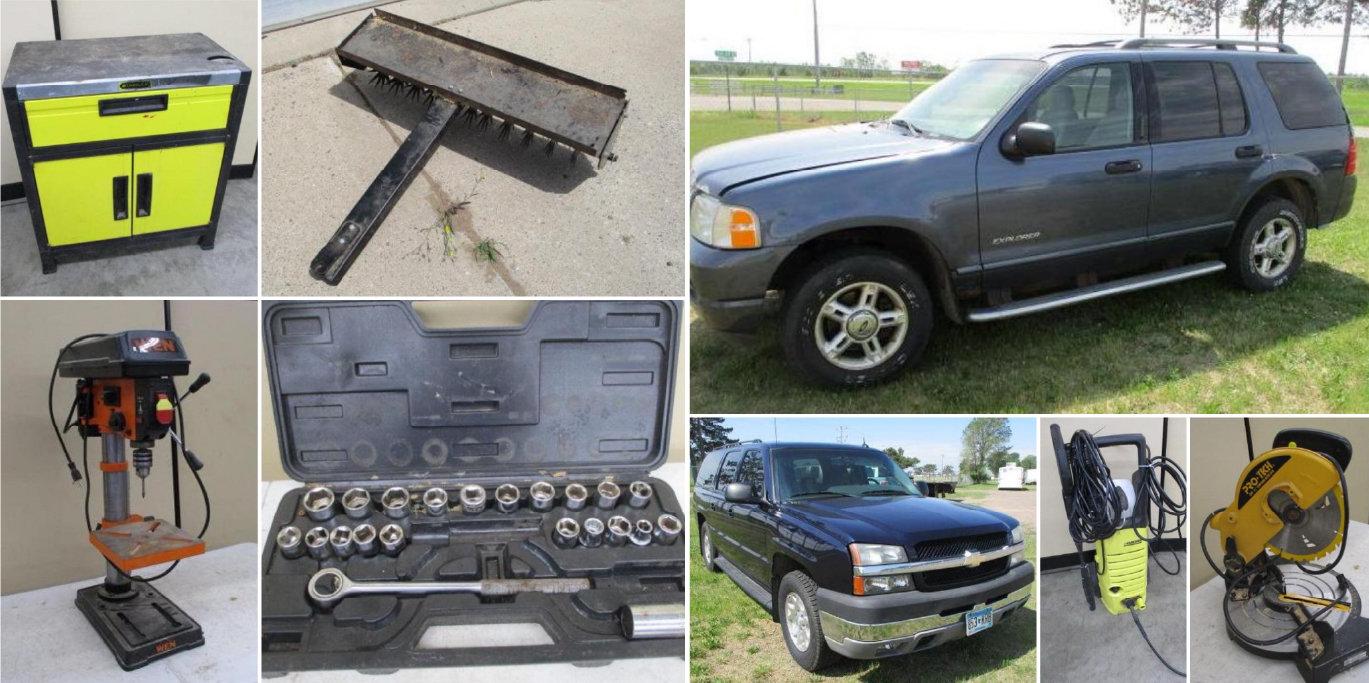 2005 Chevrolet Suburban, 2004 Ford Explorer, Tools, Household & More