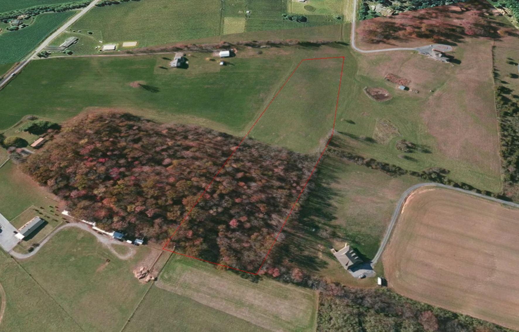 6.8 +/- Acre Building Lot w/Gorgeous Blue Ridge Mountain Views--Augusta County, VA