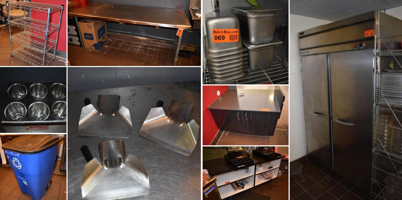 Restaurant Equipment Liquidation