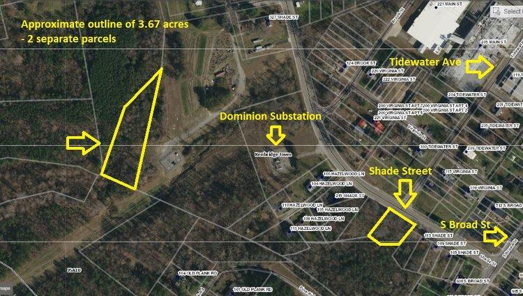 2 Parcels totaling 3.67 +/- Acres in Lunenburg County, VA--SELLS to the HIGHEST BIDDER!!