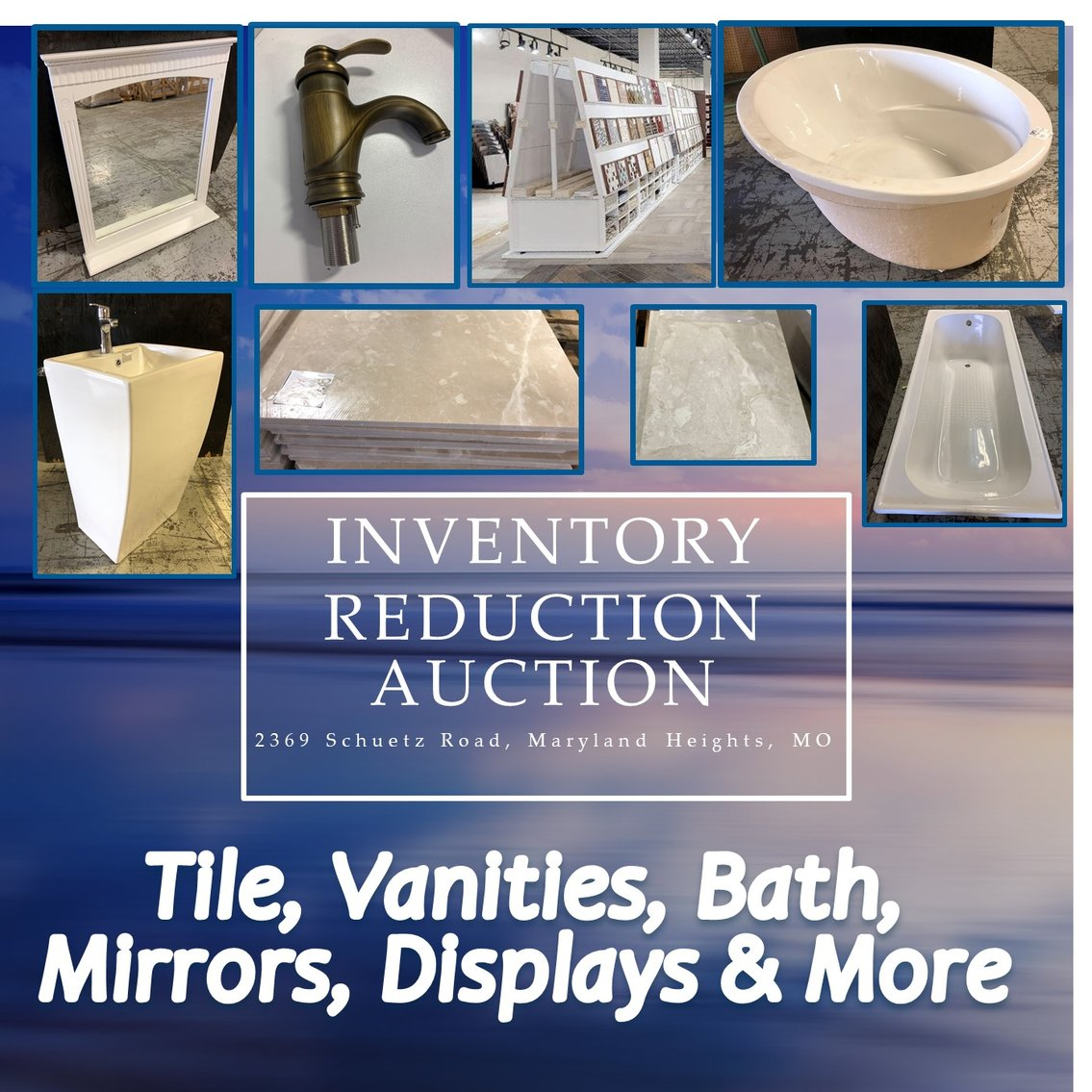 Inventory Reduction - Tile, Vanities, Bath and More!