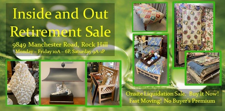 Inside and Out Retirement Liquidation Sale - Stop and Shop