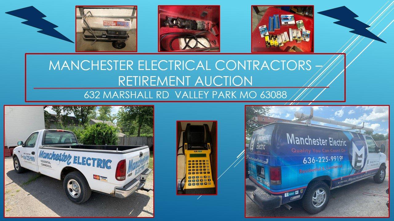 Manchester Electrical Contractors - Retirement Auction