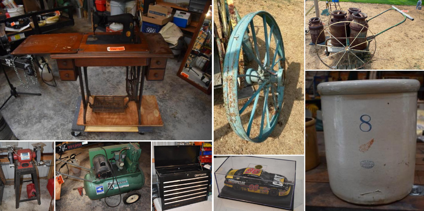 John Deere 110 Garden Tractor One Owner, Vintage Westinghouse Coca Cola Bottle Dispenser, Antiques, Garden Art & Tools