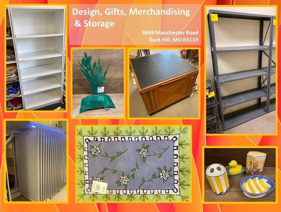 Design, Gifts, Merchandising & Storage