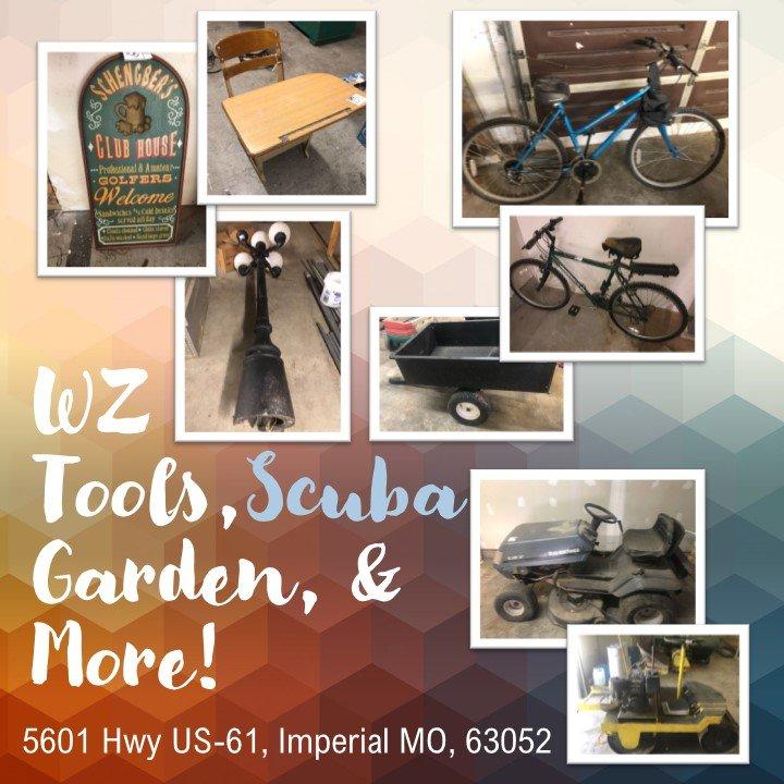 WZ Tools, Scuba, Garden, & More!