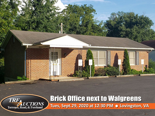 Brick Office in Lovingston VA