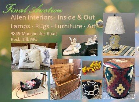 Allen Interiors - Inside Out Final Auction
