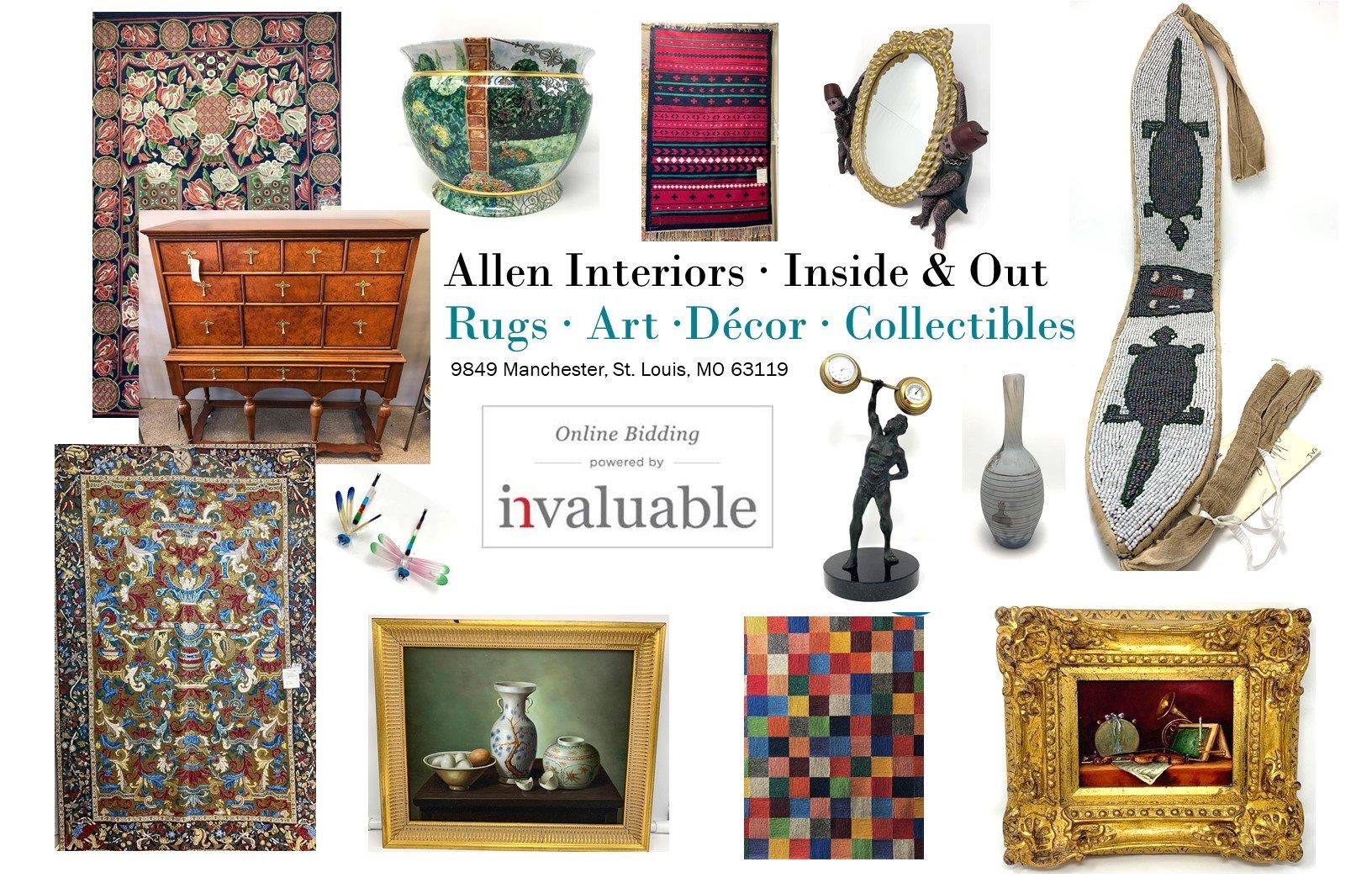 Allen Interiors - Rugs - Art - Decor - Collectibles