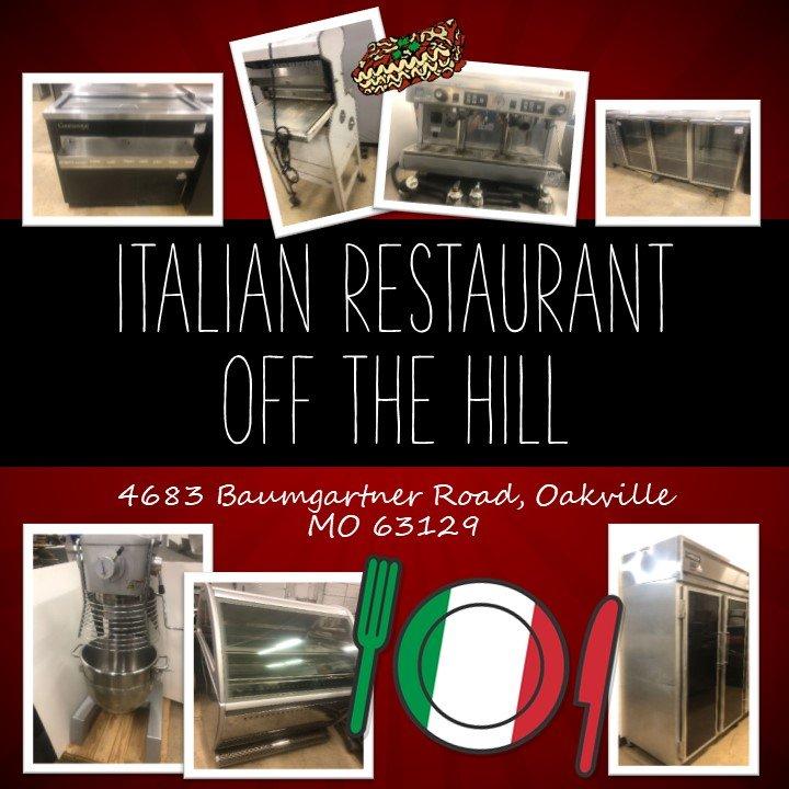 Italian Restaurant Off the Hill