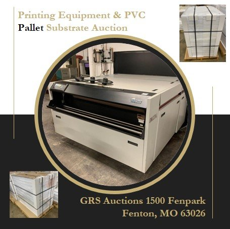 Print Shop Equipment and Printing Substrate