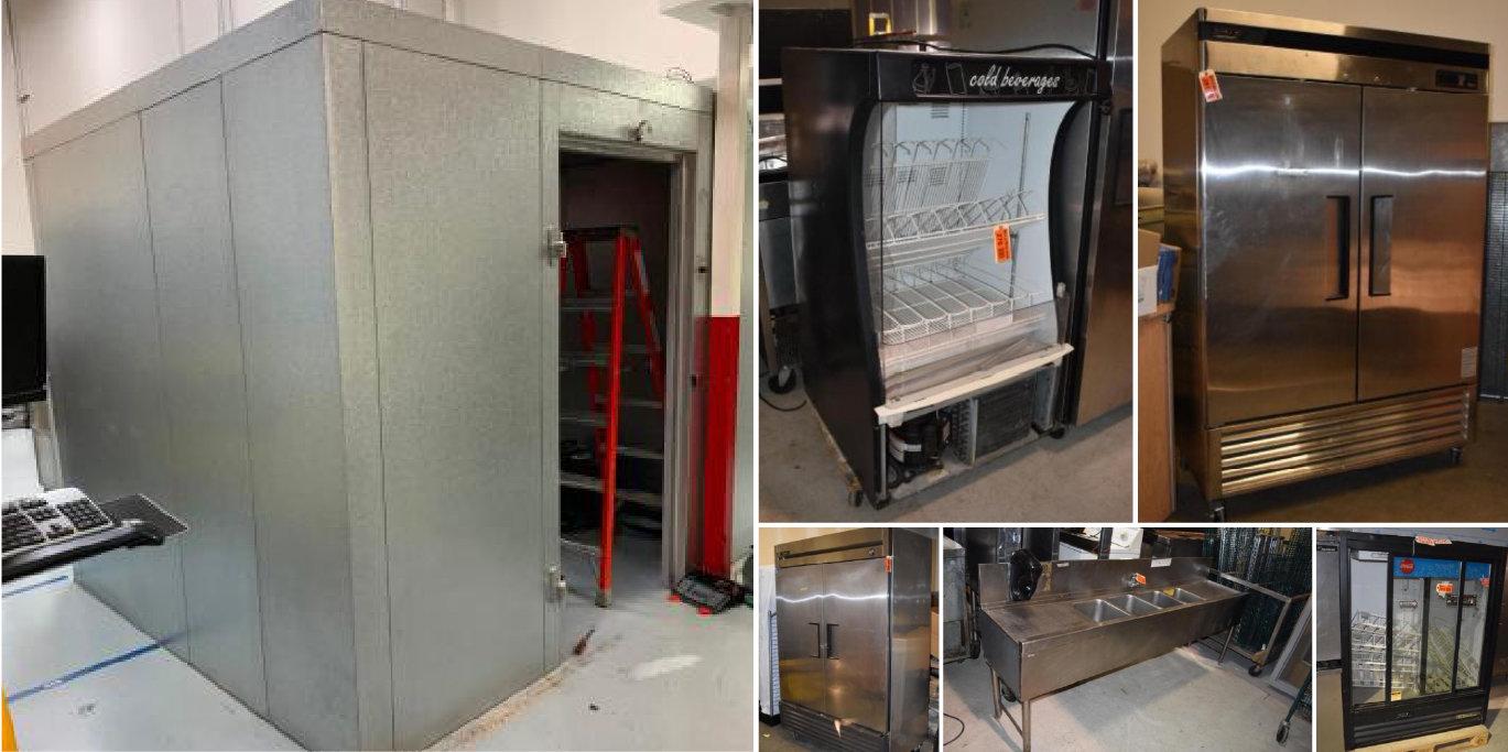 Restaurant Equipment: Refrigeration, Freezers, Utensils