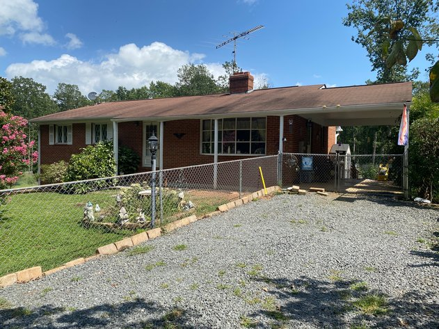 3 BR/2 BA Home on 3 +/- Acres w/Walk-Out Basement & Fenced Yard--Orange County, VA