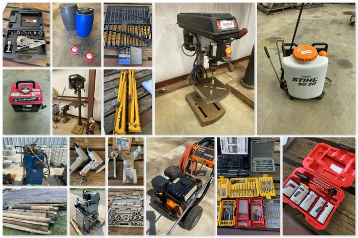 Tool, Garden, Equestrian Items & More! Online Only Auction