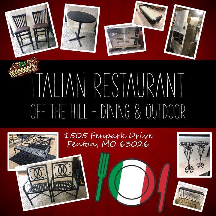 Italian Restaurant Off The Hill - Dining & Outdoor