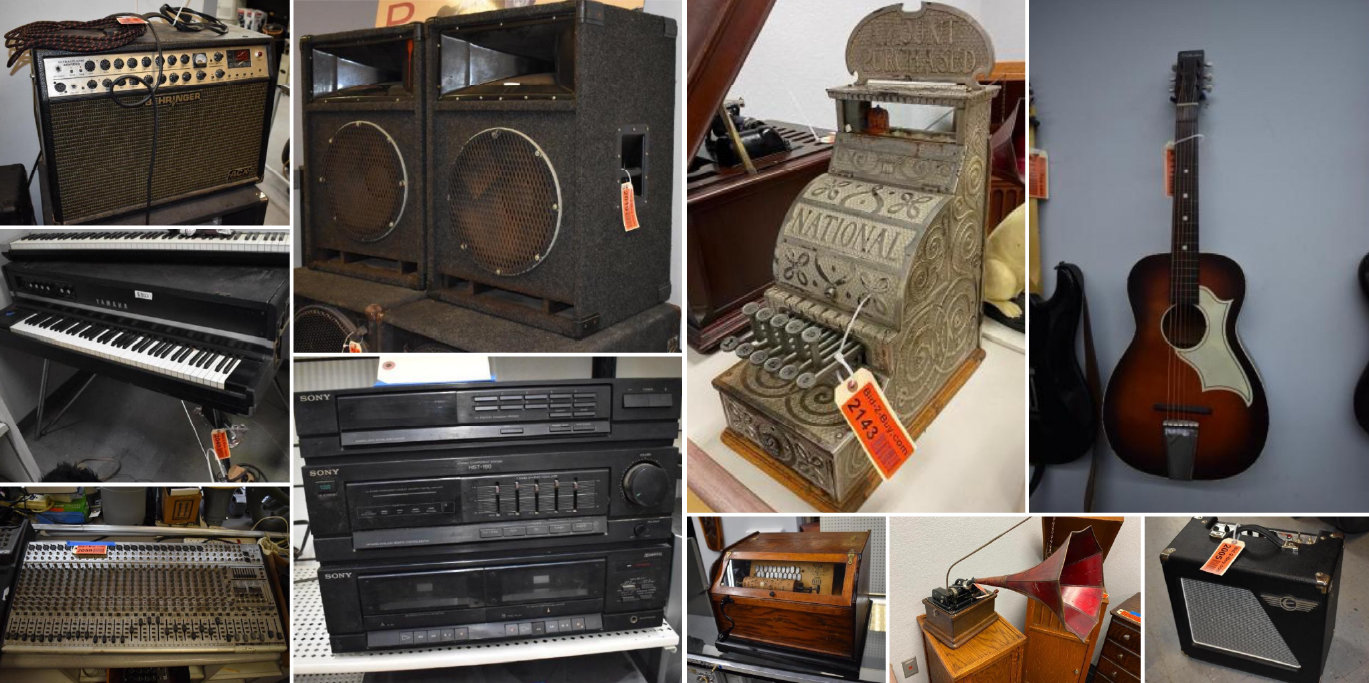 Roger's Reuse It Store Music and Antiques
