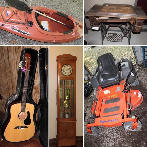 Personal Property Online Only Auction