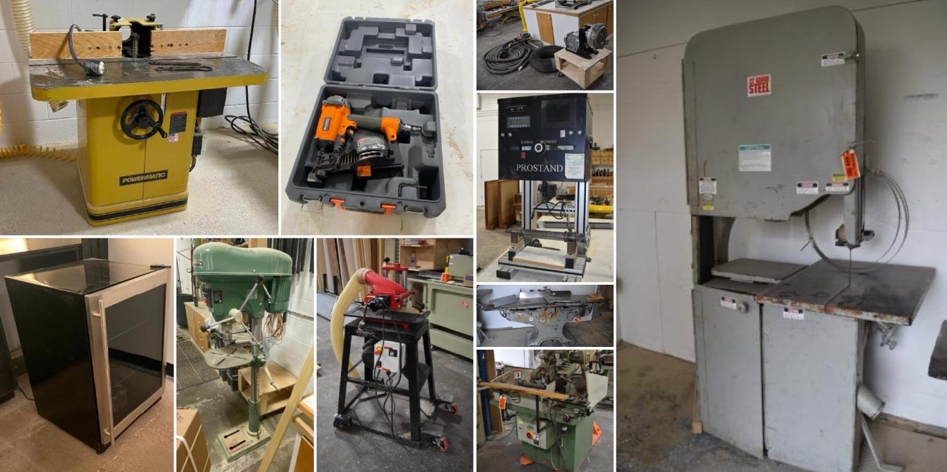 Custom Cabinet Shop - Assets No Longer Required for Continuing Operations
