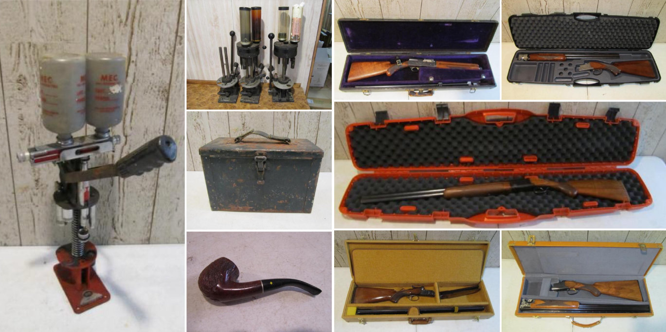 Estate Auction, Ammunition, Firearms, Sporting Goods and Collectibles