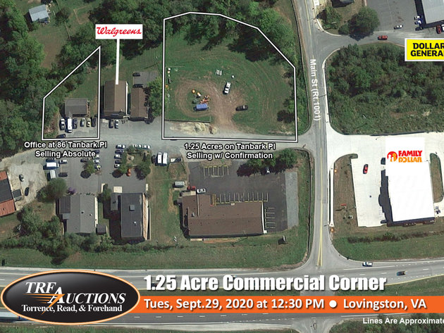Lovingston Commercial Lots
