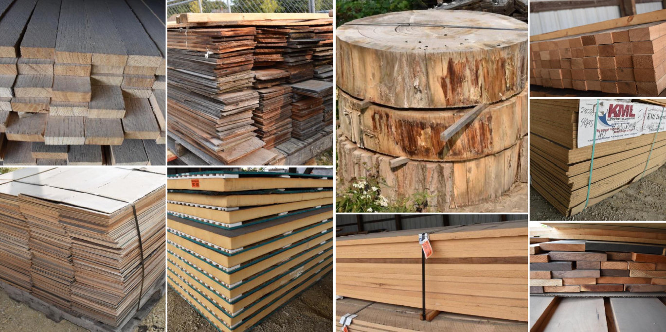 Hiawatha Lumber Phase 3: Hardwood Lumber, Sheet Goods & Mitsubishi Forklift