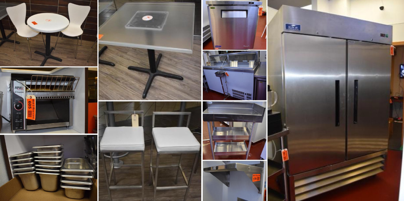 Auction Has Been Extended: Cafe, Donut & Ice Cream Shop Liquidation