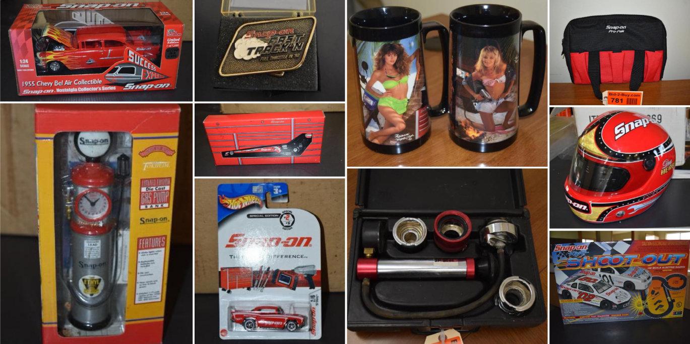 Snap-On Memorabilia & Collectibles 300+ Lots