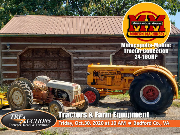 Minneapolis-Moline Tractor Collection and Farm Equipment