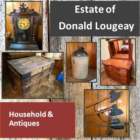 Estate Donald Lougeay - Household