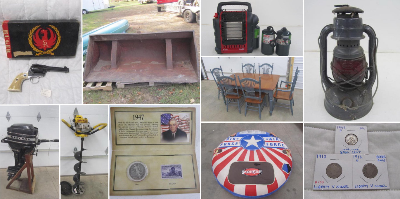 Ideal Corners Late October Consignment Auction