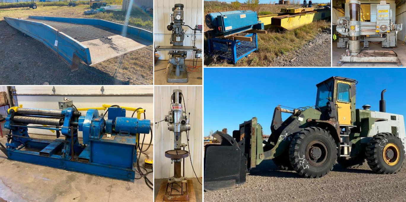 Sanders Metal Products Surplus Equipment To Ongoing Business