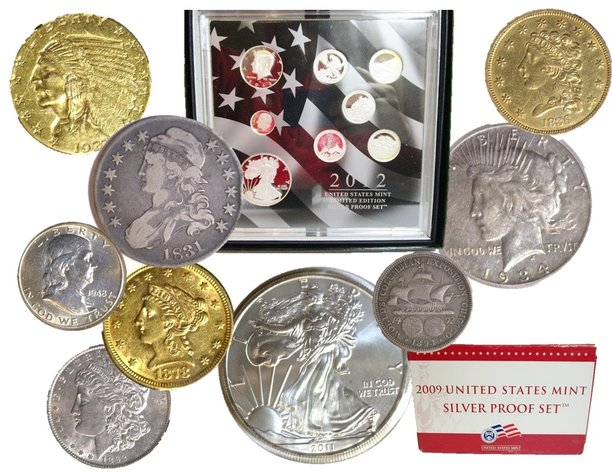 November Gold Coins, Silver Coins & Currency